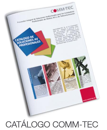 Catálogo general COMM-TEC