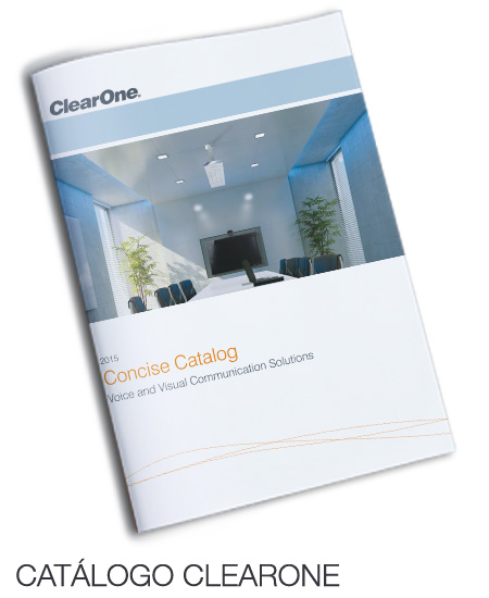 Catálogo general CLEARONE
