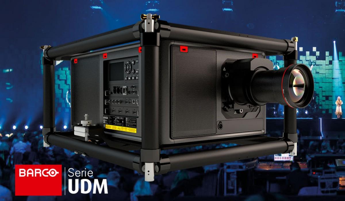 Nuevos proyectores Serie UDM de BARCO