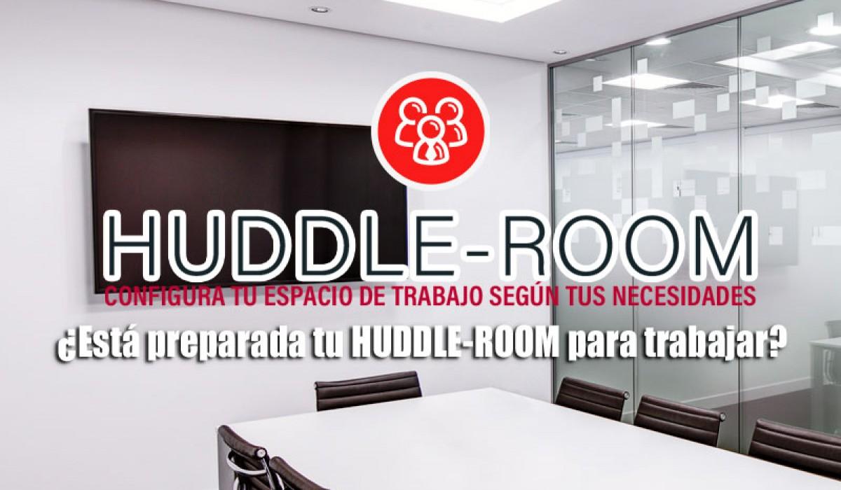 HUDDLE ROOM configura tu espacio