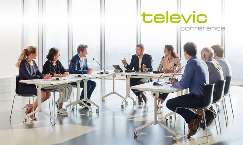 EXERTIS PRO AV distribuye TELEVIC CONFERENCE