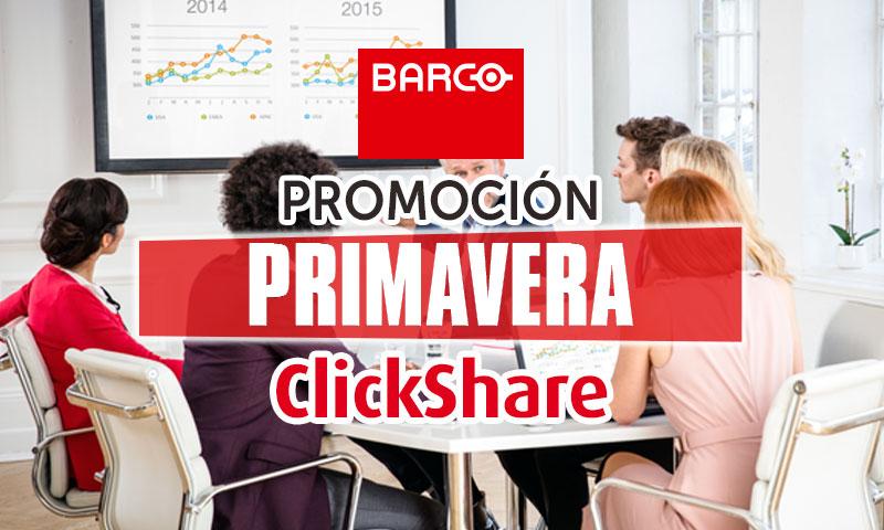 Promoción Primavera ClickShare