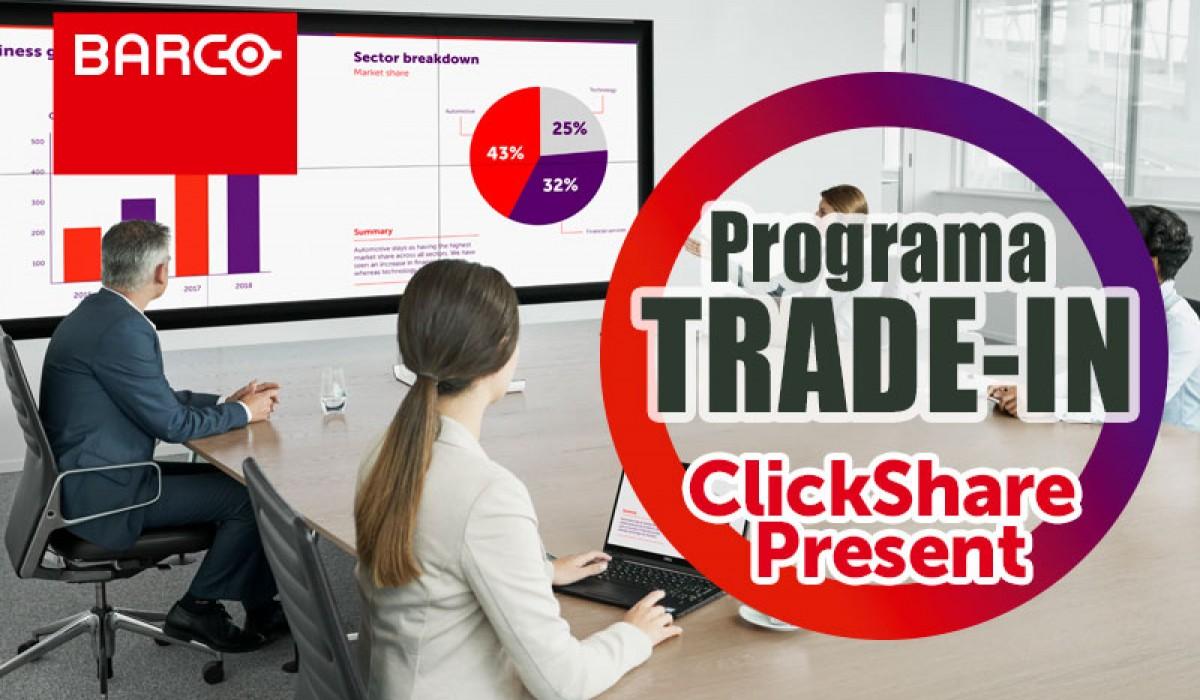 ClickShare Present en TRADE-IN