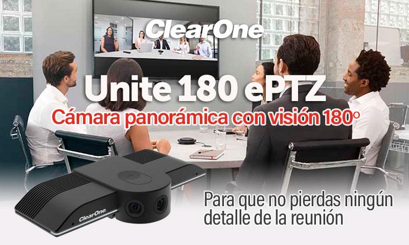 Nueva cámara Unite 180 de ClearOne