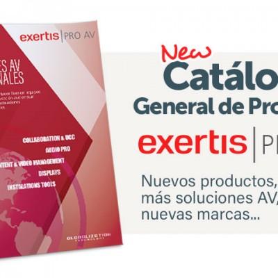 New Catálogo Exertis Pro AV